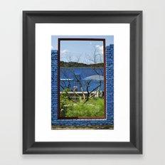 The Great Wall Box Framed Art Print