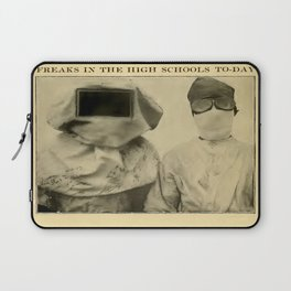 Freaks in the High Schools To-Day Laptop Sleeve