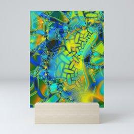 Abstract Layering Mini Art Print