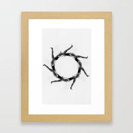 smal talk Framed Art Print