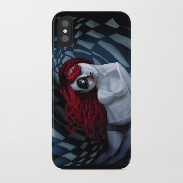 the dark side of my mind hurts iPhone Case