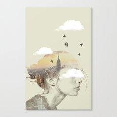 New York City Drifting Canvas Print