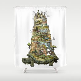 THE TORTOISE Shower Curtain