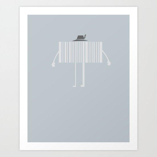 Mr. Code Art Print