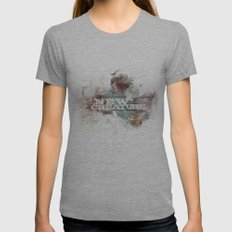 2 Corinthians 5:17 Womens Fitted Tee Athletic Grey SMALL