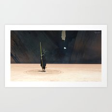 Golden Witch Doctor Art Print