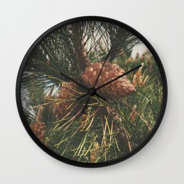STOP AND SMELL THE PINE TREES Wall Clock