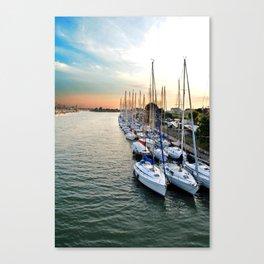 The Parking Canvas Print