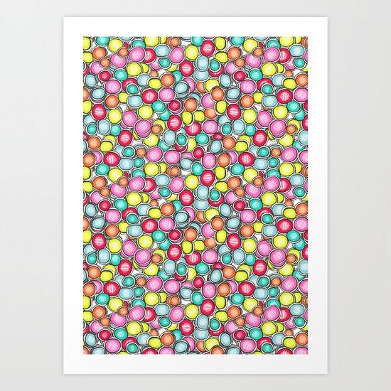 Spot Art Print