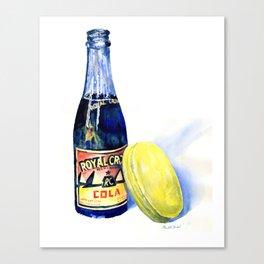 50's Fast Food Canvas Print