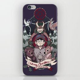 Merry Critter Christmas (South Park) iPhone Skin