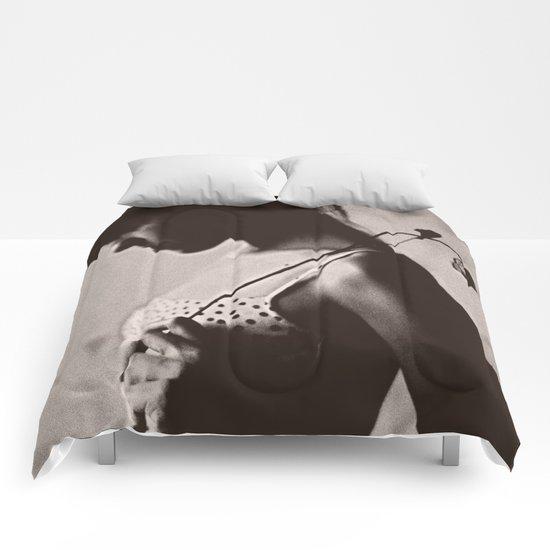 the girl Comforters