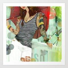 HOTEL PARADISO Art Print