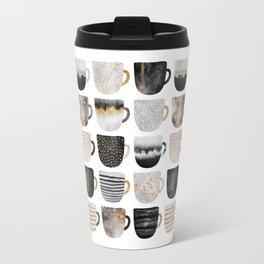 Pretty Coffe Cups 3 - White Travel Mug