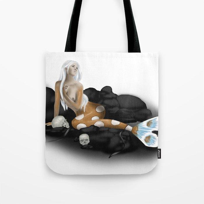 Dangerous Mermaid Tote Bag