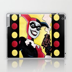 Female Jester Laptop & iPad Skin