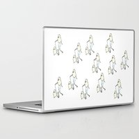 poodle Laptop & iPad Skins featuring Proudly Poodle by miba