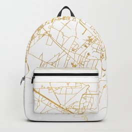 SIEM REAP CAMBODIA CITY STREET MAP ART Backpack