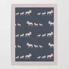 Moose (Lakeside) Poster