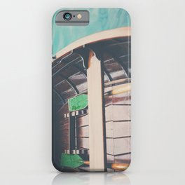 drifting on Lake Bled photograph iPhone Case