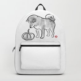 My Pumpkin, My Shiba Backpack