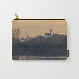 Nature lake and view to St.Martins Church Carry-All Pouch