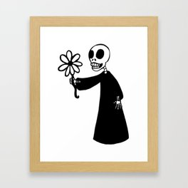 Death's Offering Framed Art Print