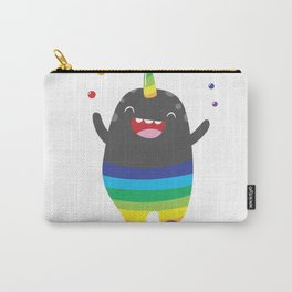 Unicorn Rainbow Monster Carry-All Pouch