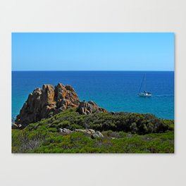 Castle Rock Canvas Print