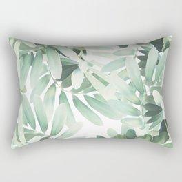 Jungle Paint Rectangular Pillow