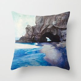 Tropea Calabria Throw Pillow