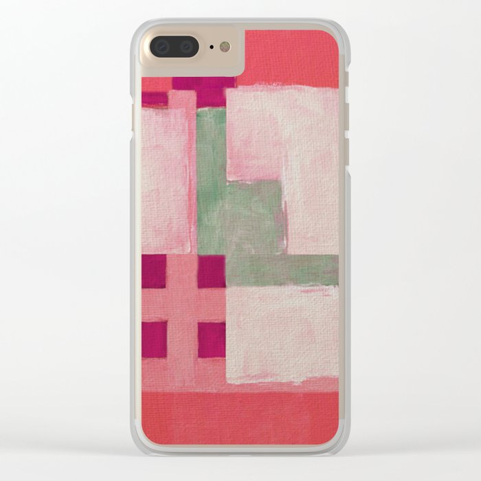 Urban Intersections 3 Clear iPhone Case