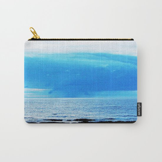 Storm Funnels Above the Sea Carry-All Pouch