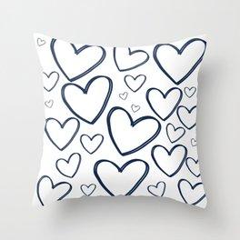 Heart Works Throw Pillow