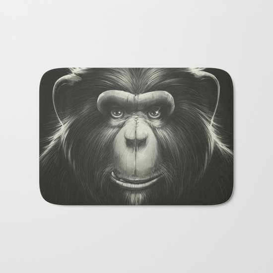 Monkee with Tooth Bath Mat
