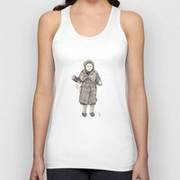 happy birthday Tank Tops featuring Happy Birthday by Ursula Rodgers