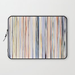 pastel abstract striped pattern Laptop Sleeve