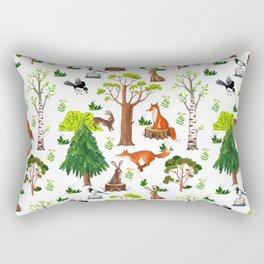 Forest Life Rectangular Pillow