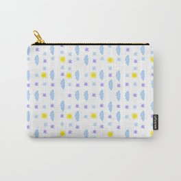 Mostly Sunny and Partly Cloudy with Stars Carry-All Pouch