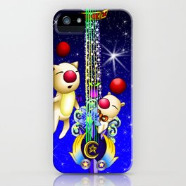 Fusion Keyblade Guitar #163 - Mogry of Glory & Star Seeker iPhone Case