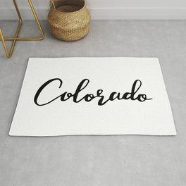 Colorado (CO; Colo.) Rug