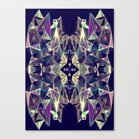 kaleidoscope Canvas Prints featuring Kaleidoscope by QUEQZZ