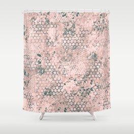 Blush Odyssey Shower Curtain