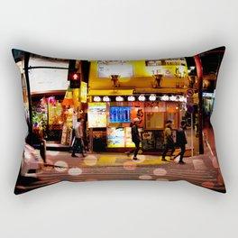 Shibuya Stroll Rectangular Pillow
