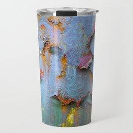 Peeling paint and rust textures 135 Travel Mug