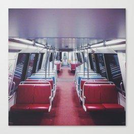 Lonely Metro Canvas Print