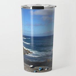 Beach Scene Travel Mug