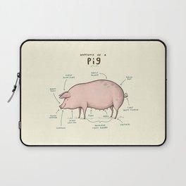 Anatomy of a Pig Laptop Sleeve