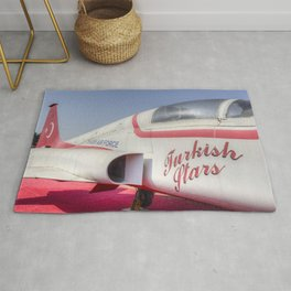 Northrop F5 Turkish stars Rug