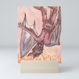 Medieval Pastel Demon Mini Art Print